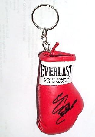 Mini guante de boxeo autografiado Llavero Rocky Balboa / Sly Stallone