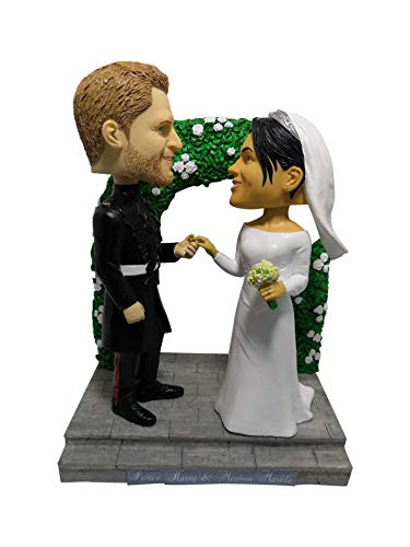 Prince Harry and Meghan Markle Limited Edition Bobblehead