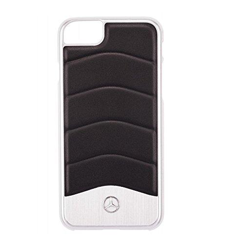 iphone-7-case-mercedes-benz-impact-resistant-wave-iii-genuine-leather-brushed-aluminium-hard-case-bl