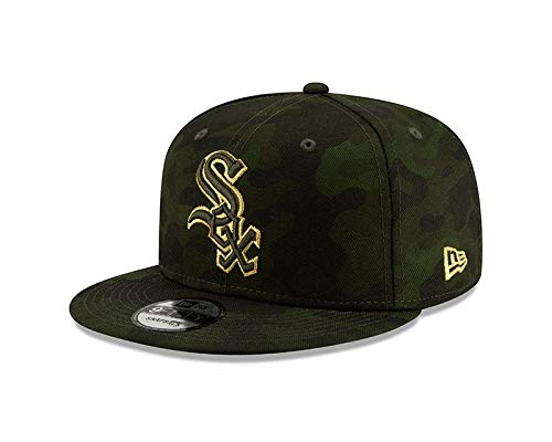 - New Era Chicago White Sox Memorial 2019 Armed Forces 9FIFTY Snapback Hat