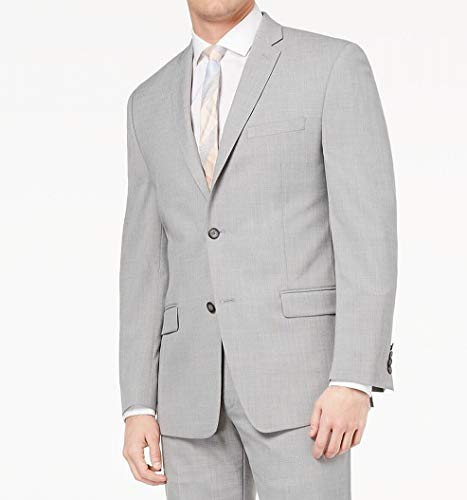 Marc York Mens Light Notch-Collar Two Button Blazer ()