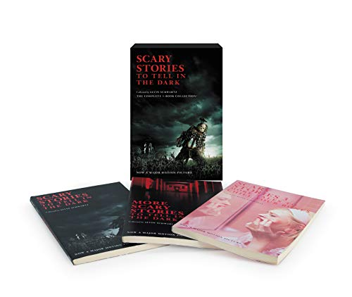 Scary Stories 3-Book Box Set Movie Tie-in Edition: Scary Stories to Tell in the Dark, More Scary Stories to Tell in the Dark, Scary Stories 3 (A Scary Story To Tell In The Dark)