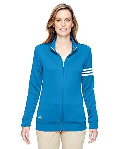 Oasis Men's Zip stripes 3 Full Adidas White Para Mujer Sweater T61HXxq