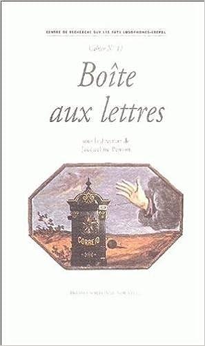 Lire Boîte aux lettres pdf, epub ebook