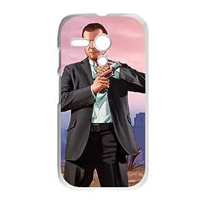 Motorola G Cell Phone Case White Grand Theft Auto V G8A7QF