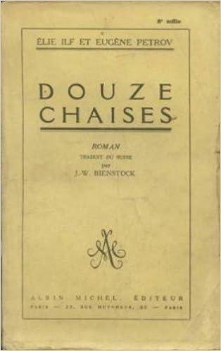 Lire un Douze chaises pdf ebook