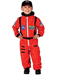 Jr. Astronaut Suit with NASA Patches and Diaper Snaps