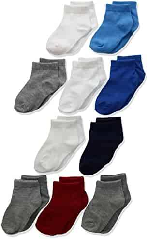 Hanes Toddler Boys' Ankle Sock 10-Pack