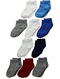 Toddler Boys' Ankle Sock 10-Pack