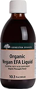 Genestra Brands - Organic Vegan EFA Liquid - Supports Overall Health and Well-Being - 10.1 fl oz (300 ml)