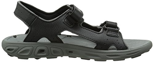 TECHSUN Columbia Boy's Black Vent Columbia Youth Black Grey Sandals qpZxwZzt