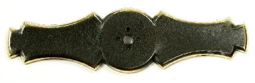 (Top Knobs M171 Tuscany Collection 3-5/8 Inch Dark Antique Brass Celtic Knob Back, Dark Antique Brass)