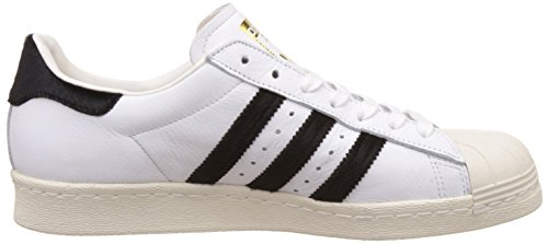 Black Trainers White Adidas Core Leather Mens Footwear 80s Superstar wqgAqI8