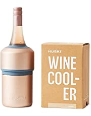Huski Wine Cooler | Premium Iceless Wine Chiller | Keeps Wine or Champagne Bottle Cold up to 6 Hours | Award Winning Design | New Wine Accessory | Wine Lovers