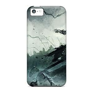 BestSellerWen iPhone 6 plus 5.5 Hard Back With Bumper Silicone Gel Tpu Case Cover Lich King WANGJING JINDA
