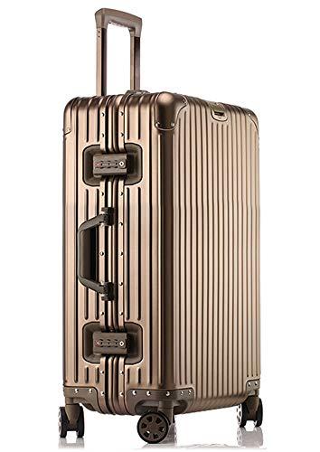 [해외]LNMLAN 고급 알루미늄 마그네슘 합금 여행 가방 기내 가방 입금 여행 가방 캐리어 가방 TSA 자물쇠 캐스터 여행용 출장 1801 / LNMLAN High End Aluminum Magnesium Alloy Suitcase Carry-on Suitcase Deposit Suitcase Carry Bag TSA Lock Caster T...