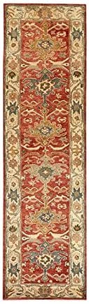 Authentic Pottery Barn 5x8 8x10 9x12 Channing Rust Hand Tufted Wool Rug Woolen Area Rug (2.5'X9')