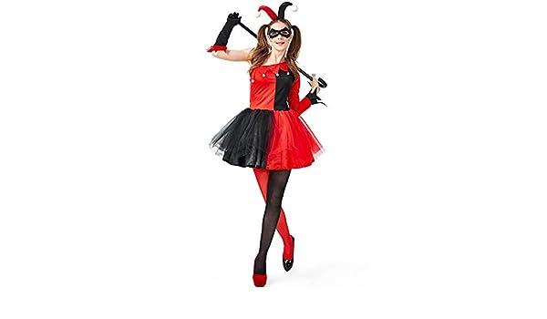 Lecoyeee Suicide Squad 5PC Disfraz de Harley Quinn de Suicide para ...