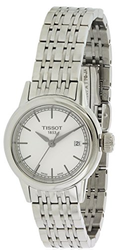 Tissot Women's Carson White Dials Stainless Steel Watch T0852101101100 by Tissot