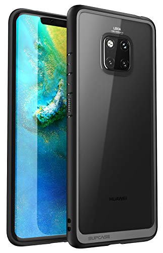Huawei Mate 20 Pro Case, SUPCASE Unicorn Beetle Style Series Clear Protective TPU Bumper PC Premium Hybrid Case for Huawei Mate 20 Pro/LYA-L29 2018 Release -Retail Package (Black)
