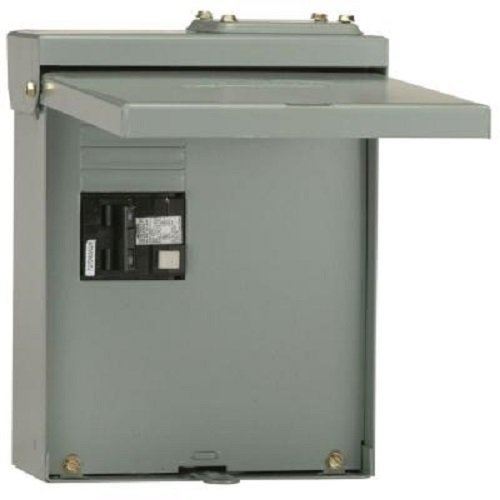 Midwest Gloves Spa Disconnect Panel 60 Amp GFCI Interupter Included (50 Amp Spa Panel)