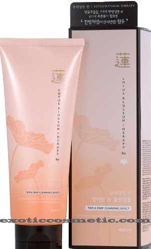 **New** Lotus Blossom Therapy Pure Natural Facial Cleansing Foam by Kwailnara