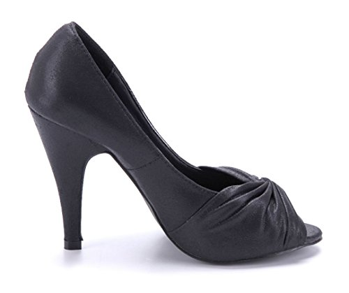 Schuhe Pumps Heels Peeptoes 10 High Damen Cm Stiletto Schuhtempel24 sCrtQBxhd