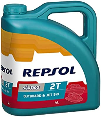 Repsol RP129Y54 Nautico Outboard & Jet Ski 2T Aceite de Motor, 4 L