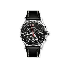 Victorinox Swiss Army Men's Chron Classic Chronograph Dial Watch Black V251444
