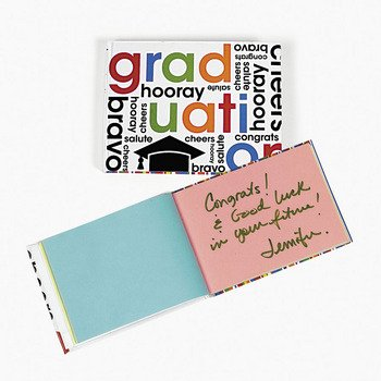 Cheers To the Grad Autograph Notebooks by Fun Express