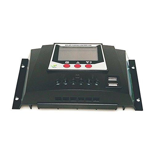 Bioenno Power 12V/24V/36V/48, 30A Universal Solar Charge Controller (SC-4830JUD)