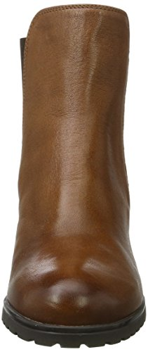 Geox D New Lise D, Bottes Chelsea Femme Marron (Brown)