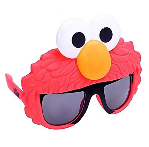Costume Sunglasses Sesame Elmo Sun-Staches Party Favors UV400]()