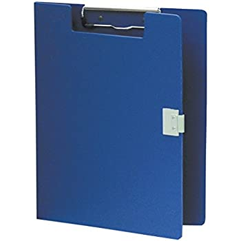 Omnimed 205103-BL Covered Poly Clipboard, Blue