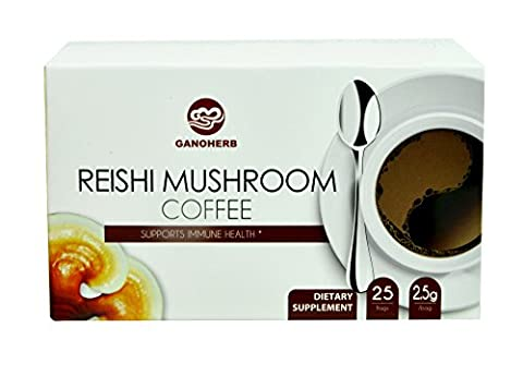 Ganoderma lucidum coffee reishi coffee, Delicious,Nutritious and Flavorful with 100% certified organic Ganoderma Lucidum spore and - Ganoderma Lucidum Reishi