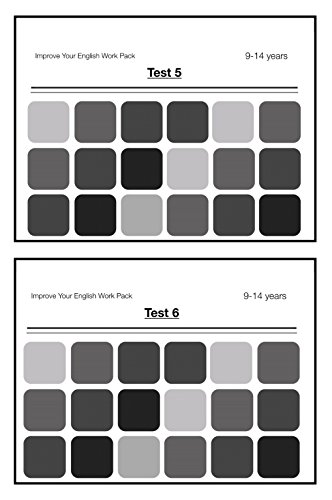 Test Your English Grammar And Punctuation (Tests 5 and 6): Improve Your English Work Packs (2 Pack Set) (9-14 years)