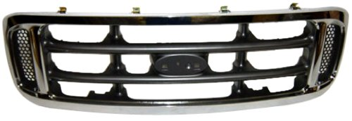 (OE Replacement Ford Super Duty Grille Assembly (Partslink Number FO1200359) )