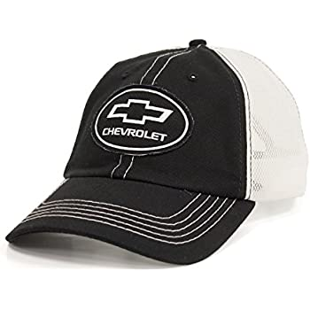 22595976611 Amazon.com  Chevrolet Mesh Hat (Grey) One Size  Clothing