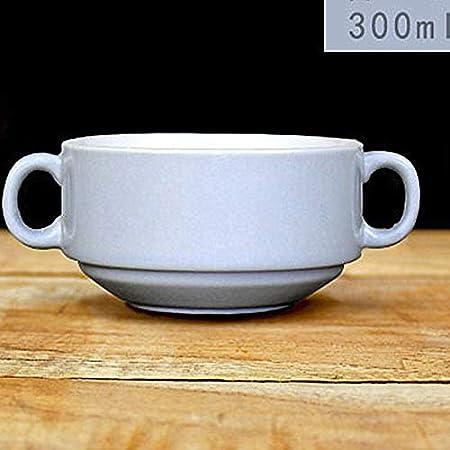 Cuencos de sopa de 300 ml para microondas, tazas de sopa de ...