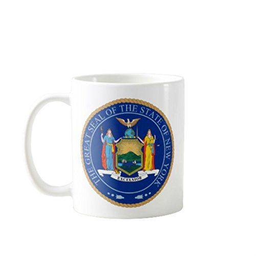 11 OZ Coffee Mugs - THE GREAT SEAL THE STATE OF NEW YORK - Office Mug - Funny Mug with Quotes - Perfect Gift for Employees, Friends or Family #20681