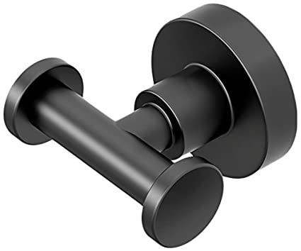 50481dafd2 Image Unavailable. Image not available for. Color  Gatco 5505 Studio  Bathroom Robe Hook Matte Black