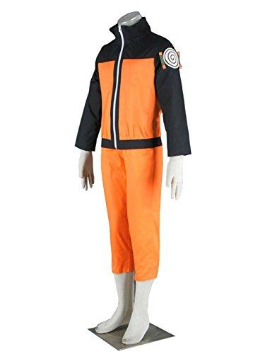 - KILLYCOS Cosplay Costume Uzumaki Naruto Jacket Pants Outfits
