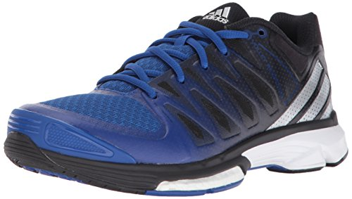 adidas Performance Women's Volley Response 2 Boost W Volleyball Shoe Collegiate Royal/Metallic Silver/Black