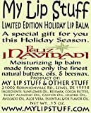 by My Lip Stuff My Lip Stuff-FELIZ NAVIDAD (Mexican Hot Chocolate Flavor) LIMITED EDITION HOLIDAY LIP BALM by My Lip Stuff Bild