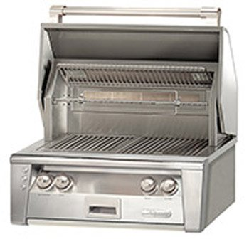 Alfresco Grill - Alfresco ALXE-30SZ-LPZNG 30' Sear Zone Grill Natural Gas Built with 77000 BTUH and Integrated Rotisserie System with Built-In Motor in Stainless