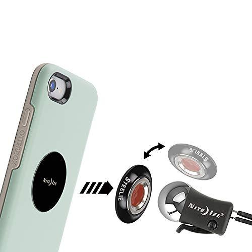 Nite Ize Steelie Orbiter Vent Kit Low Profile Portable Magnetic Car Vent Mount for Smartphones STOVK-01-R8