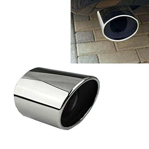 Price comparison product image BADASS SHARKS Chrome Exhaust Muffler Tail Pipe Tip For Honda Accord MK 2008 2009 2010 2011 2012 Stainless Steel …