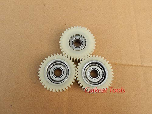 Ochoos 3pcs/Set 36Teeths Outer Diameter 38mm Thickness 12mm Electric Vehicle Bicycle Nylon Worm Gear Electric Bicycle Replacement Part - (Number of Teeth: 36 Teeth, Hole Diameter: Thicknss 12MM): Amazon.com: Industrial & Scientific
