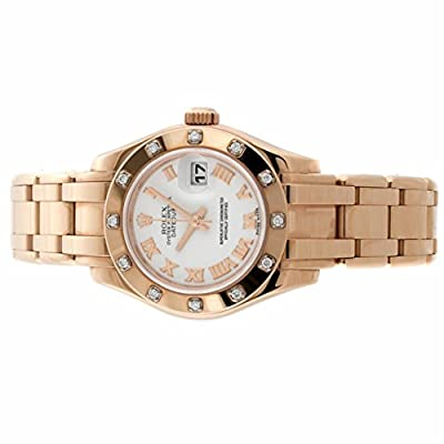 Rolex Pearlmaster automatic-self-wind womens Watch 80315 (Certified Pre-owned)