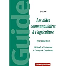 AIDES COMMUNAUTAIRES À L'AGRICULTURE